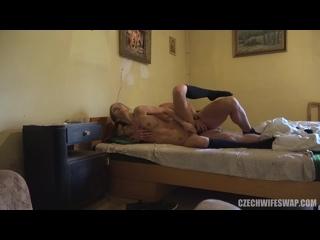 Czech wife swap 12 часть 2| Чешский Обмен женами[MILF, Blowjob, Glasses, Hardcore, Licking, Skinny, new porn 2019]