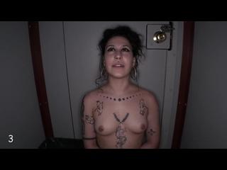 Glory Hole, Blowjob, Tattoo, Darkroom,