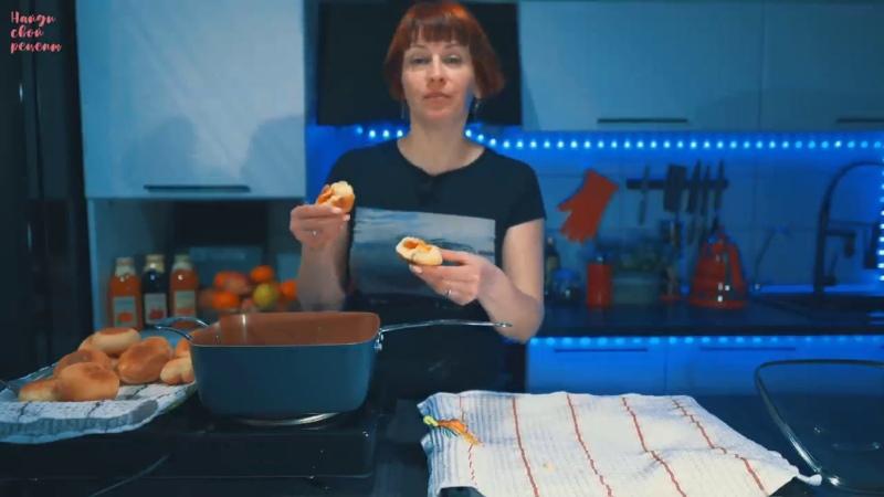Как приготовить дома пончики с повидлом