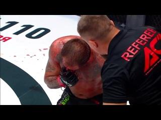 ACA 107: Магомед Исмаилов останавливает Александра Емельяненко в третьем раунде