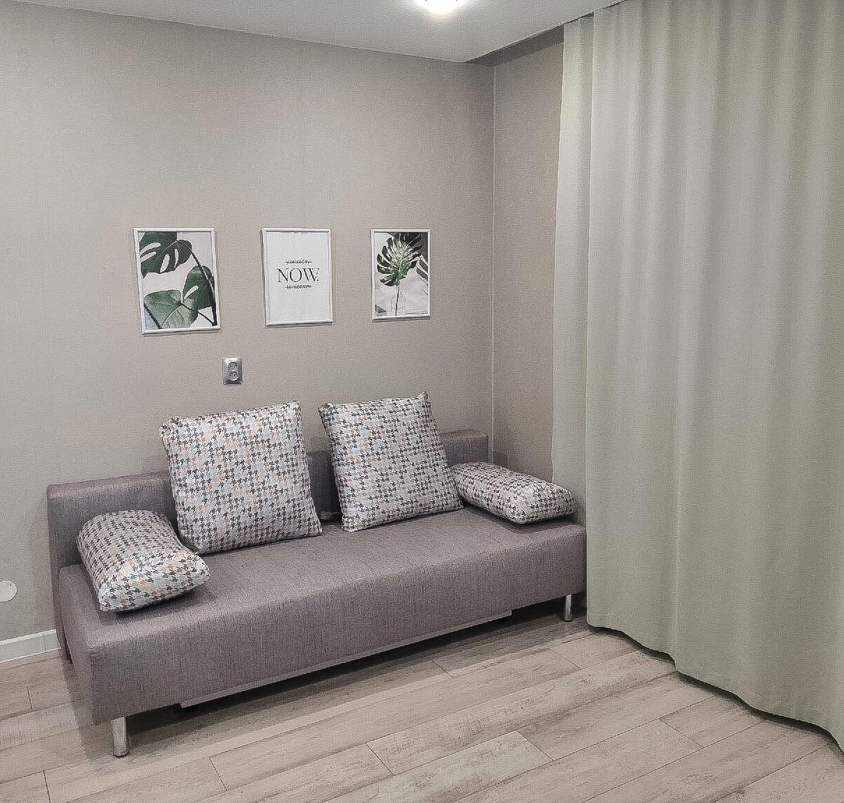 Дизайн квартиры-студии, 24,6 кВ м.