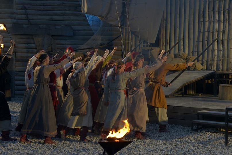 Фолк-рок мюзикл «Садко» (г. Великий Новгород) фрагмент