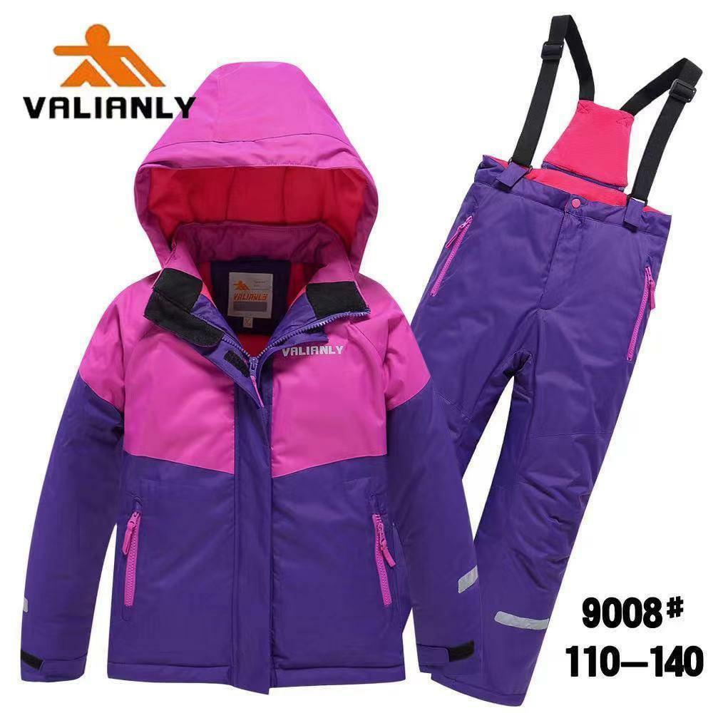 Зимний комплект Valianly 9008 сирень