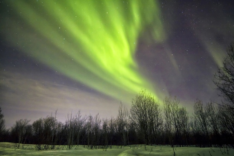 10 лучших мест, где можно увидеть северное сияние — в России и за границей, изображение №3