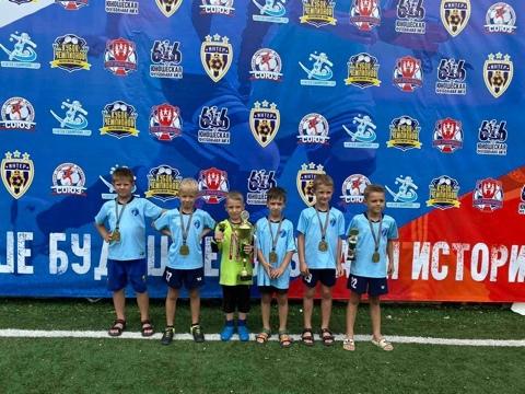Петровские футболисты стали призёрами международного турнира