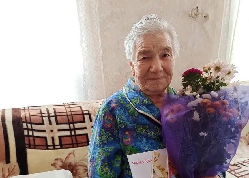 Труженица тыла из Петровска Валентина Николаевна ТРУХИНА отмечает сегодня 90-летний юбилей