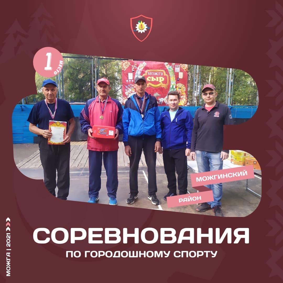 Сборная Можгинского района стала победителем традиционных соревнований