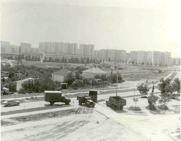 Улица маршала Бирюзова.  1977г  Фото Александра Тетюшкина.