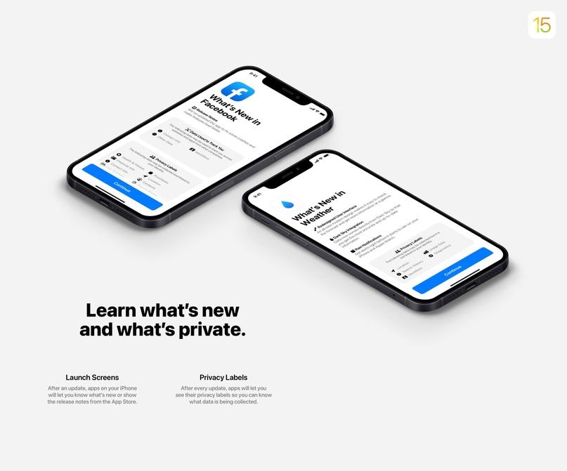 50 нововведений iOS 15 показали в новом концепте, изображение №3