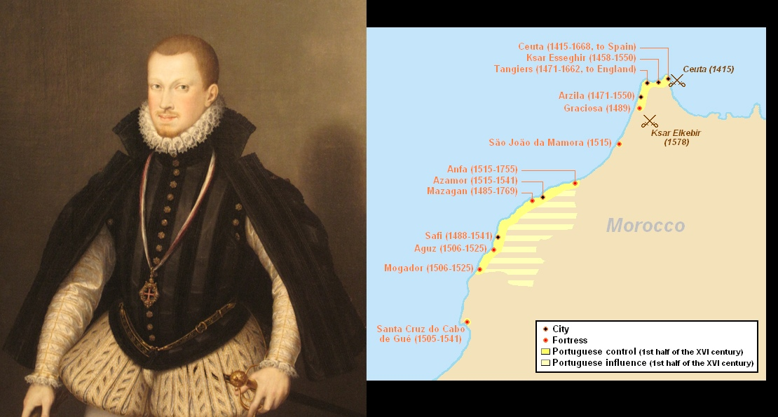 Король Испании Себастьян Первый