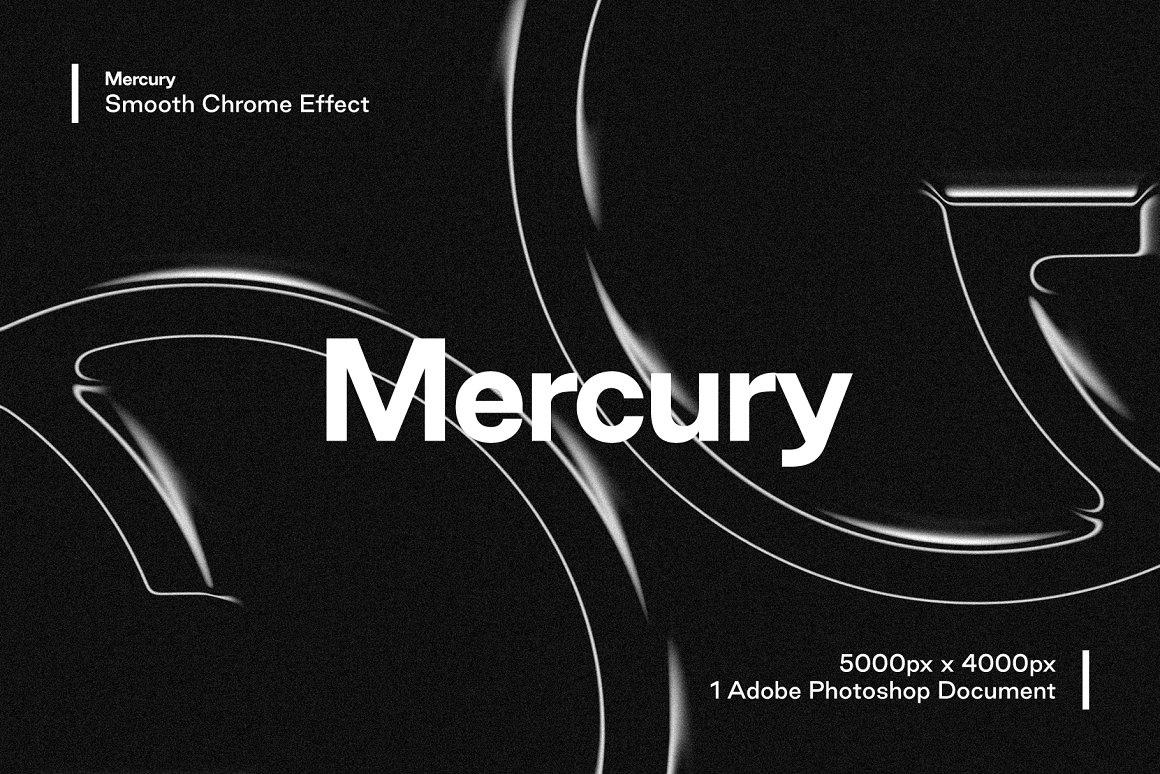 Mercury - Smooth Chrome Effect