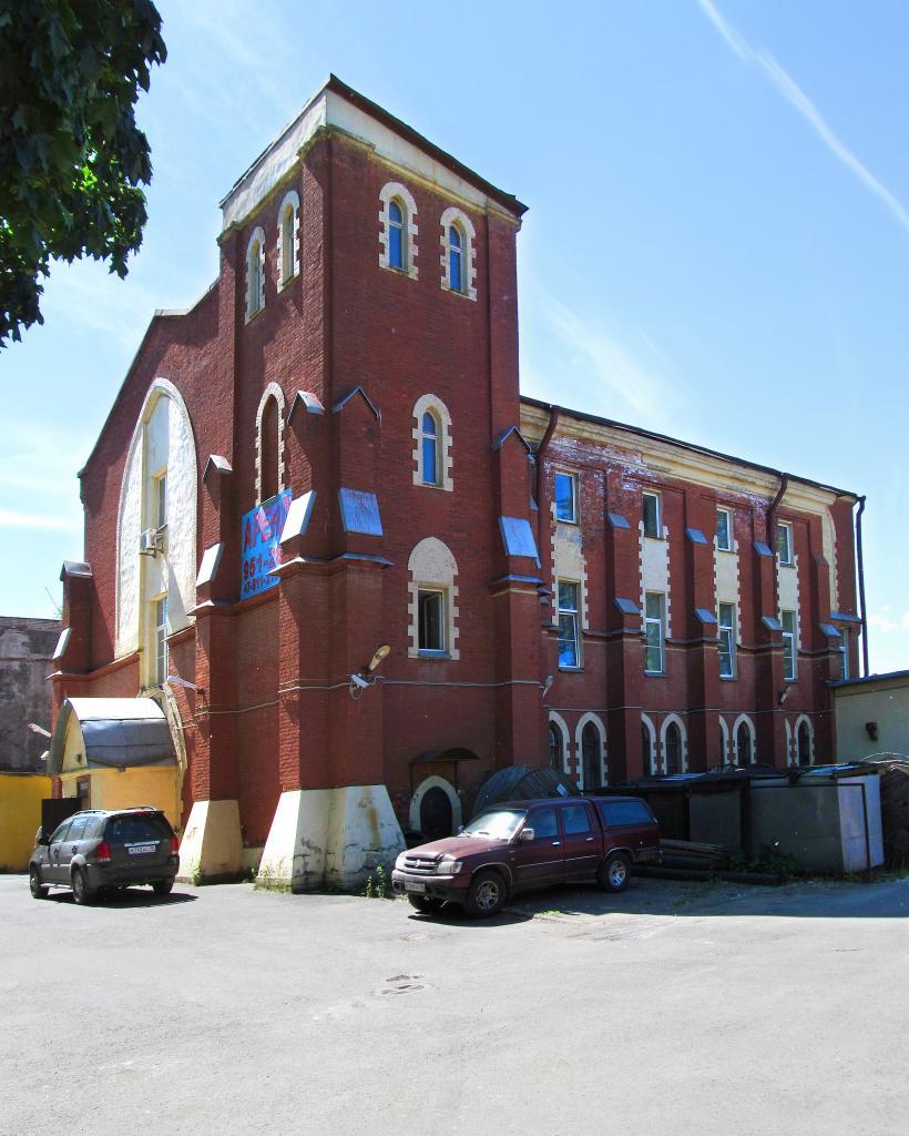 Фото 4. Британо-Американская церковь за Невской заставой