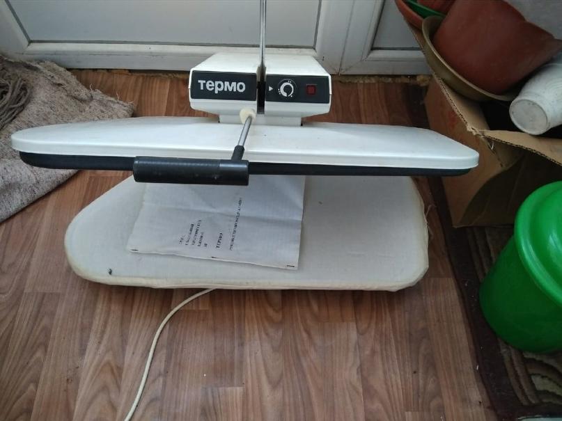 Продам , пресс гладильный электрический бытовой термо, в хорошем состояние полно...