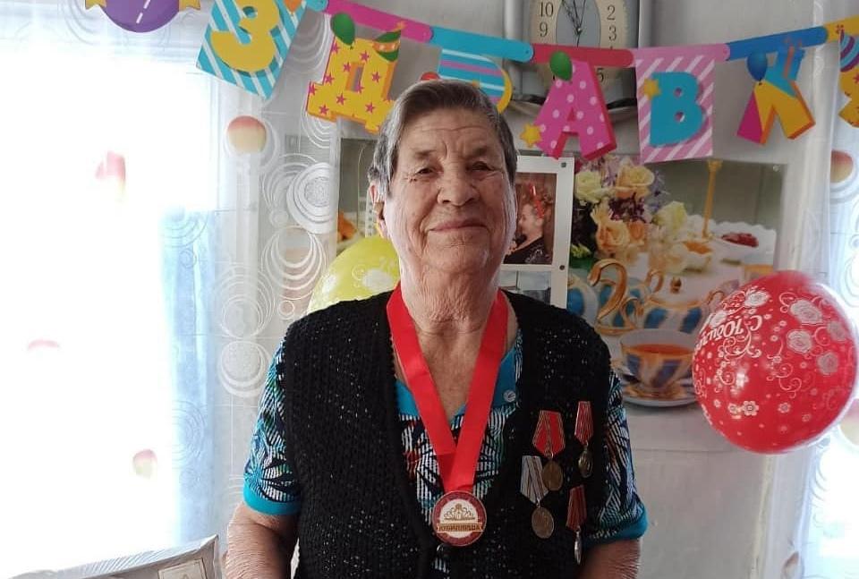 Сегодня 90-летие отмечает труженица тыла из села Сосновоборское Лидия Павловна ДУДОРОВА