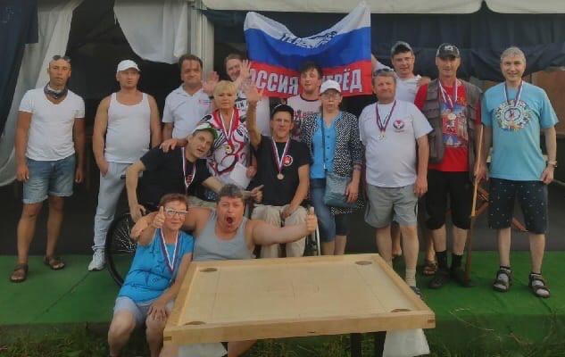 Можгинцы - победители Межрегионального инклюзивного турнира по