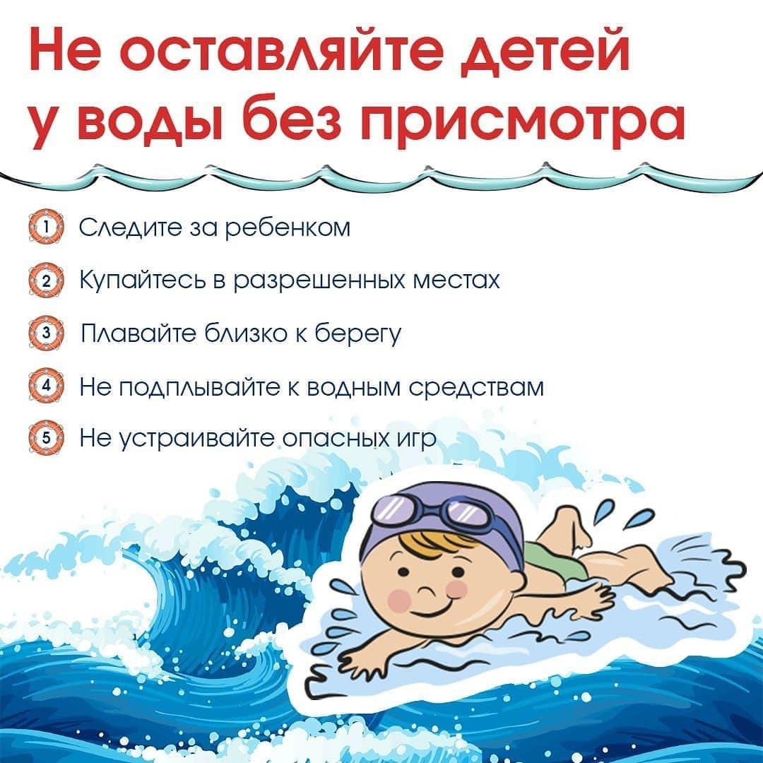 Уважаемые родители - мамы и папы детей и подростков! Пожалуйста, помните об элементарных правилах безопасного поведения у водоёмов