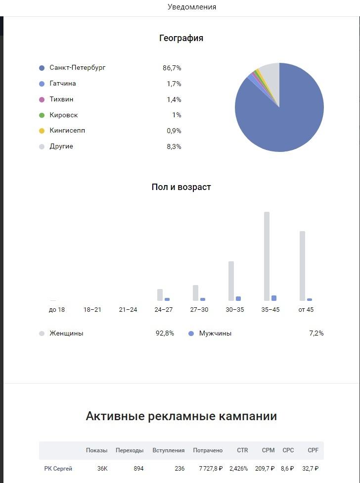 Кейс: Продажа шоколадных цветов в СПб через Вконтакте, изображение №11