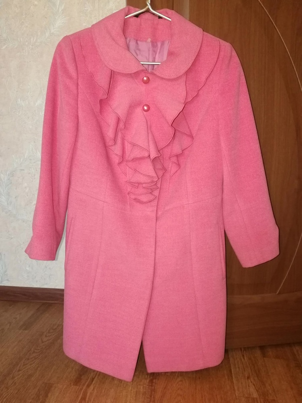 Для девушки розовое пальто, в отличном | Объявления Орска и Новотроицка №16853