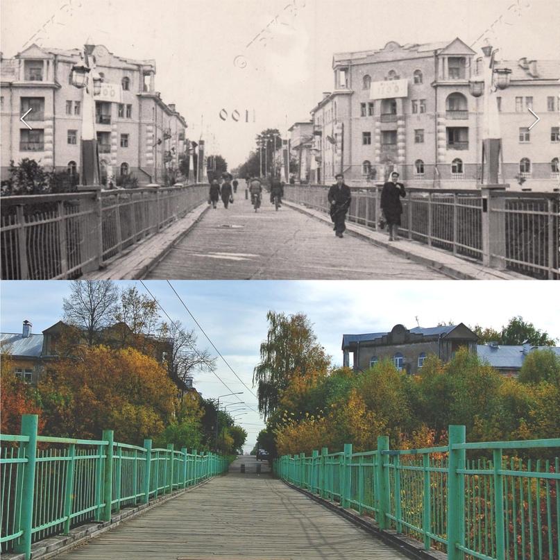 Штапской мост 1962/2020 гг., Муром
