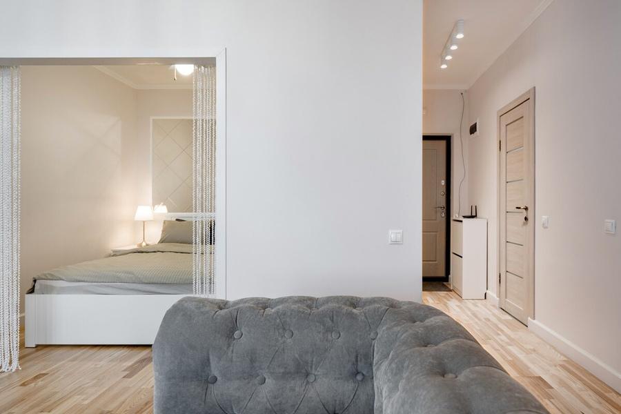 Интерьер студийной квартиры 35 кв.