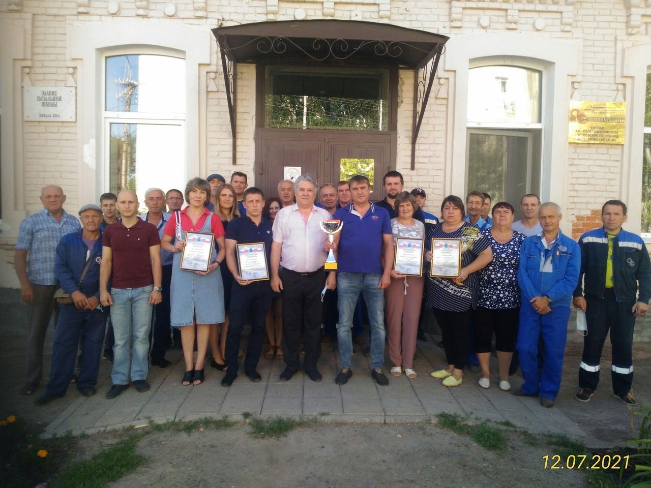 Сотрудники Петровских горэлектросетей — победители корпоративных соревнований