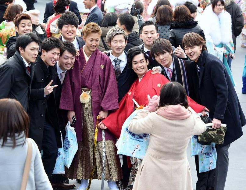 Церемония совершеннолетия в Японии