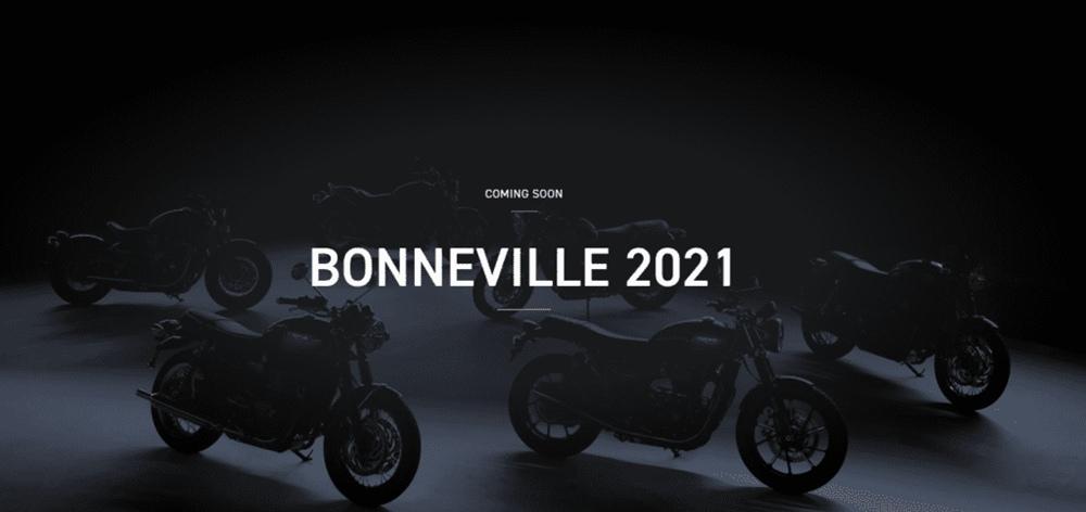 Тизер новой линейки Triumph Bonneville 2021