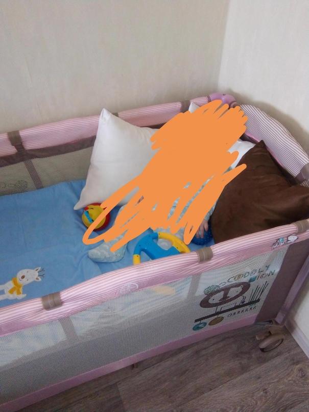 Манеж- кровать в отличном состоянии , | Объявления Орска и Новотроицка №23912