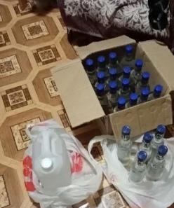 В Бузулуке вновь обнаружили подозрительный алкогол...