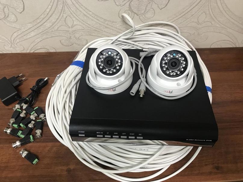 Новый комплект HD видеонаблюдения на 2 AHD   Объявления Орска и Новотроицка №23811