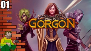 Project: Gorgon - New Old School MMORPG - Let's Play Gameplay