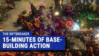 The Riftbreaker gameplay - StarCraft meets They Are Billions meets Diablo