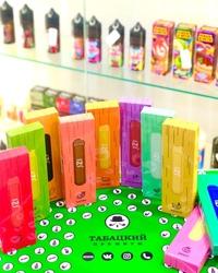 табацкий премиум одноразовые электронные сигареты