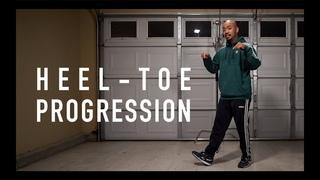 House Dance Tutorial - Heel Toe Progression (Watch Till The End!)