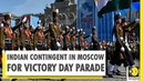 Rehearsal by Indian contingent takes place ahead of 75th Victory Day Parade at Moscow