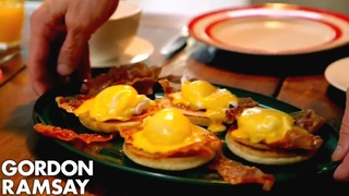 Eggs Benedict With Crispy Parma Ham   Gordon Ramsay