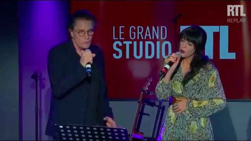 Nolwenn Leroy et Francis Cabrel - Je t'aimais, Je t'aime et Je t'aimerai (Live) - Le Grand Studio RTL