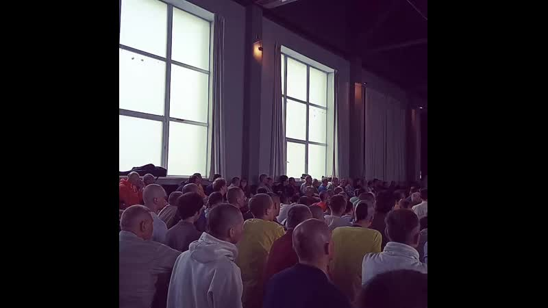 Festival Moscow community of Vaiṣṇavas, lecture H.H. Niranjan Swami, Moscow, 05.05.2019