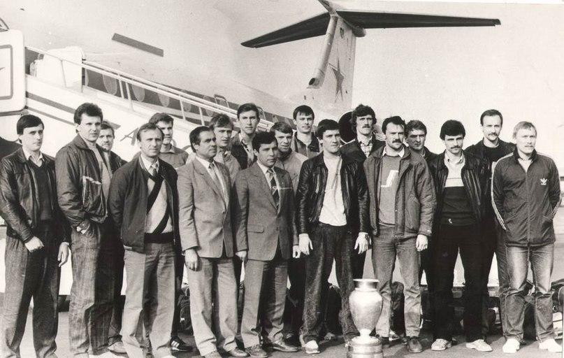 СКА - с Кубком чемпионов -87