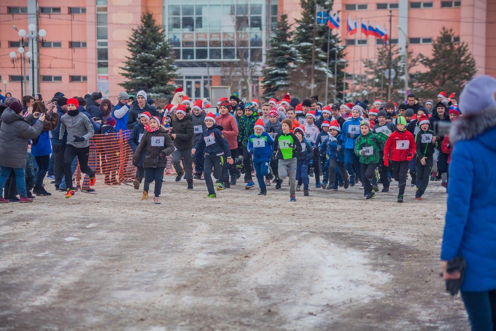 22 декабря на Октябрьской площади состоится традиционный легкоатлетический пробег.