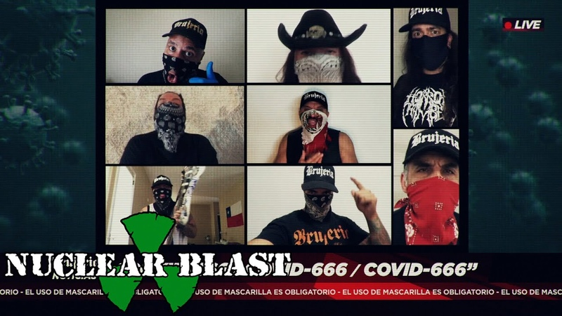 BRUJERIA - COVID-666 (OFFICIAL MUSIC VIDEO)