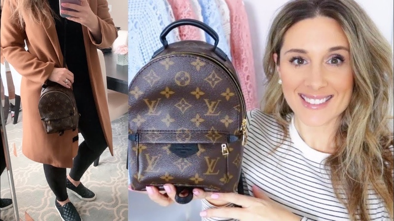 LV Palm Springs MINI BACKPACK POSITIVES NEGATIVES WHAT FITS