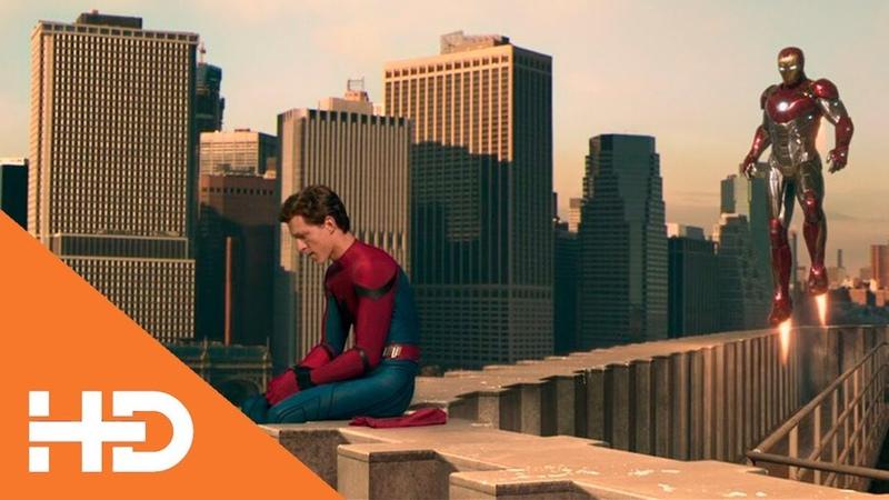 Тони Старк забирает костюм у Питера ★ Человек паук Возвращение домой 2017