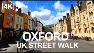 [4K] Oxford Tour, England   City Centre - Virtual Oxford Walking Tour 2020
