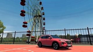 City Car Driving - Hyundai Santa Fe l Driving   CCD   Сити Кар Драйвинг  