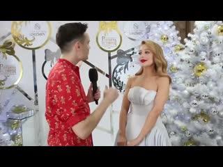 Интервью с Тиной Кароль после концерта Рождественская история