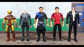 Marvel Legends Shang Chi And The Legend Of The Ten Rings Movie, Mr Hyde BAF Wave WENWU Figure Review