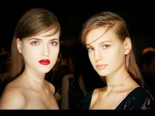 Makeup at the Dior Haute Couture Spring-Summer 2014 show