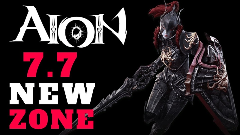 AION 7.7 Beginners Guide - How To Enter NEW ZONE BEST PVP GEAR PREVIEW! (Aion MMORPG Gameplay F2P)