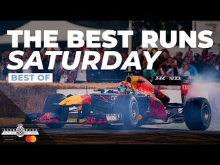 The best Goodwood Festival of Speed runs   Saturday
